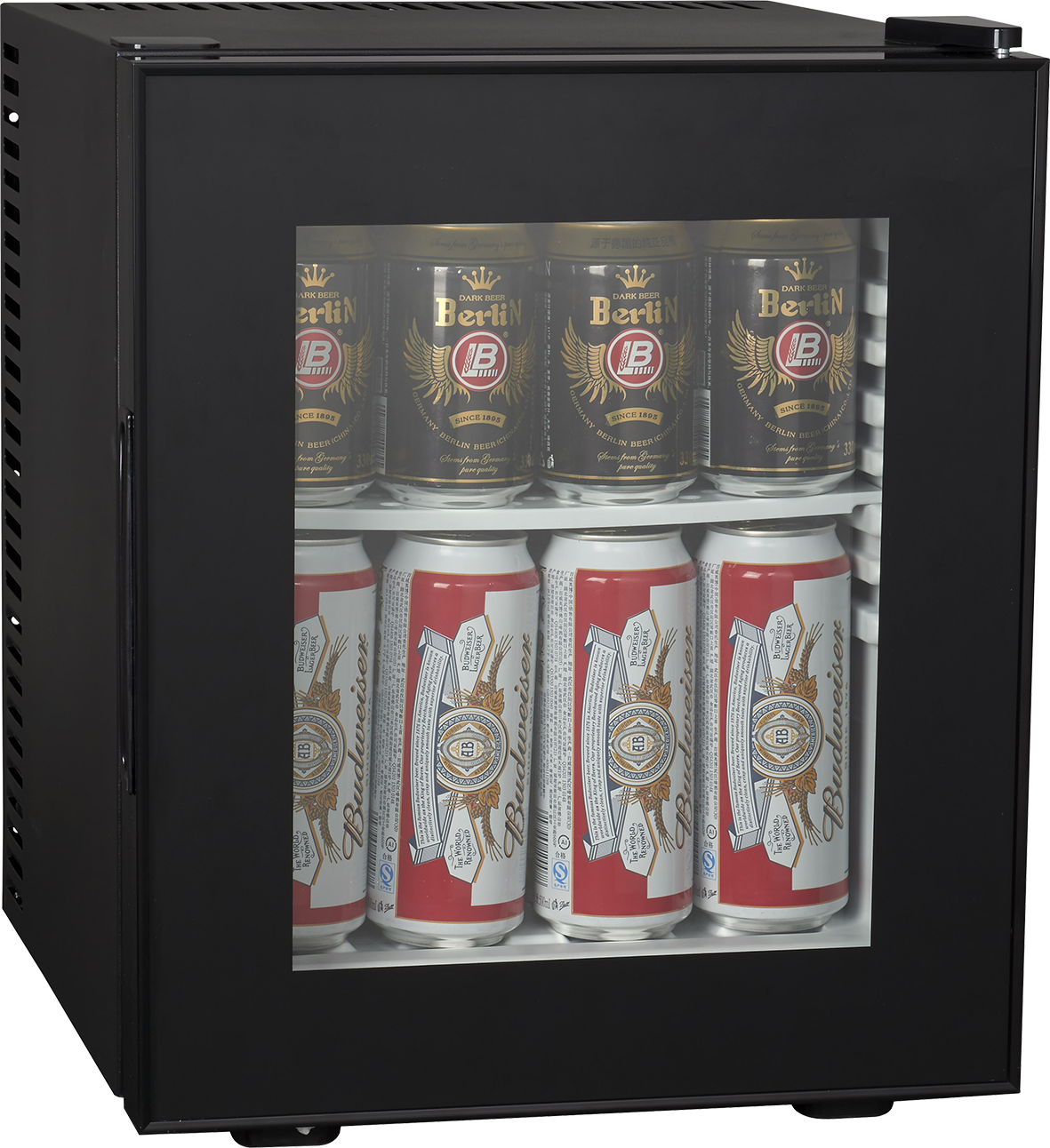 rfrigrateur mini bar 19l vitr 100 silencieux brandy best brandy best. Black Bedroom Furniture Sets. Home Design Ideas