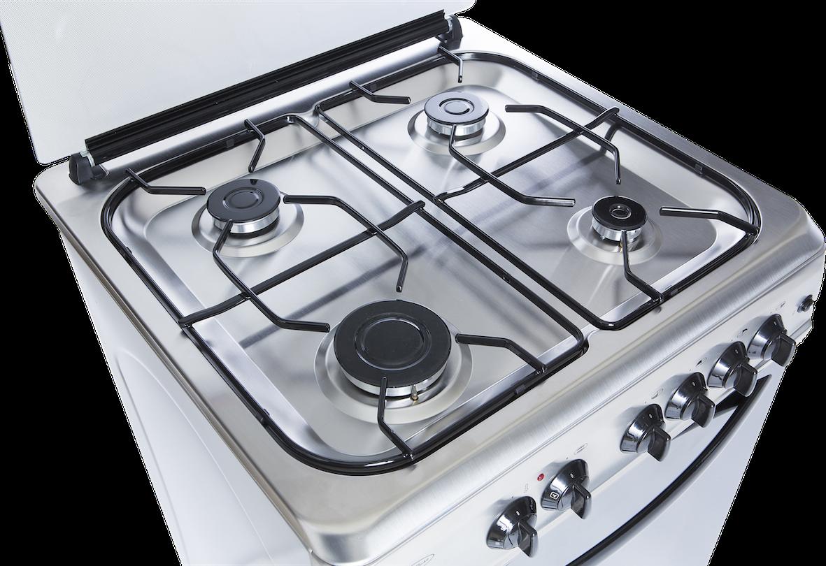 Cuisiniere gaz en ixox 60cm four electrique payez en 10 x sans interets ebay - Cuisiniere gaz four electrique chaleur tournante ...